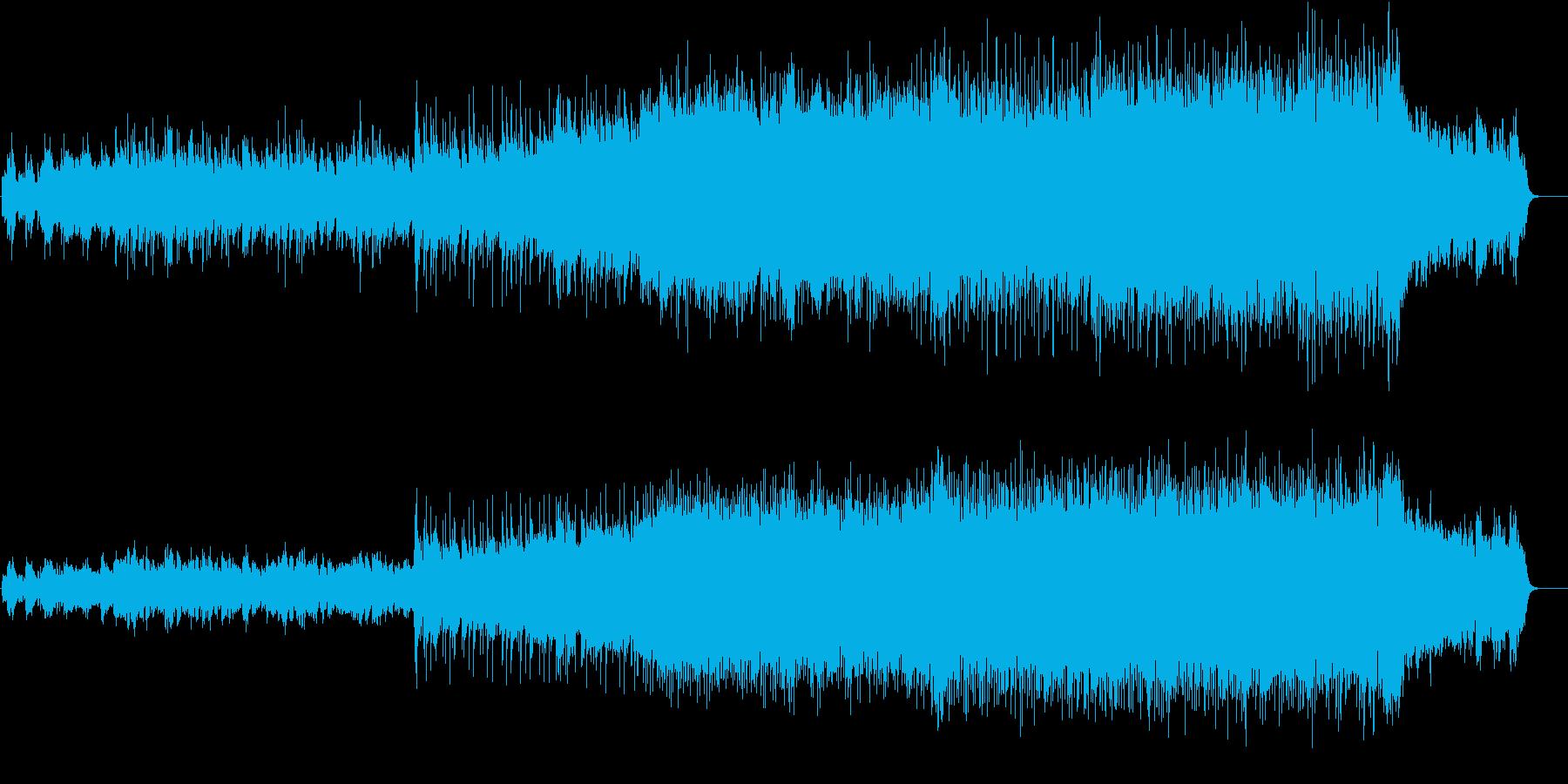 潤いのある感動的なピアノ・バラードの再生済みの波形
