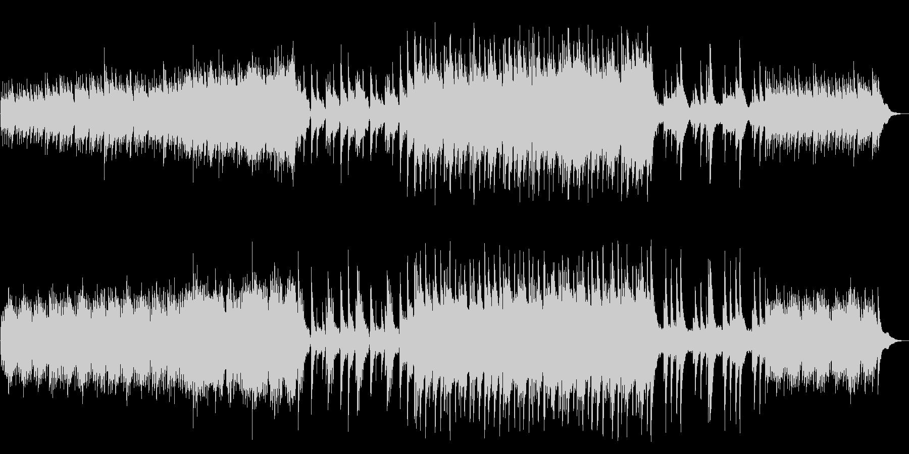 [和風]民族楽器 幻想 森 自然 ピアノの未再生の波形