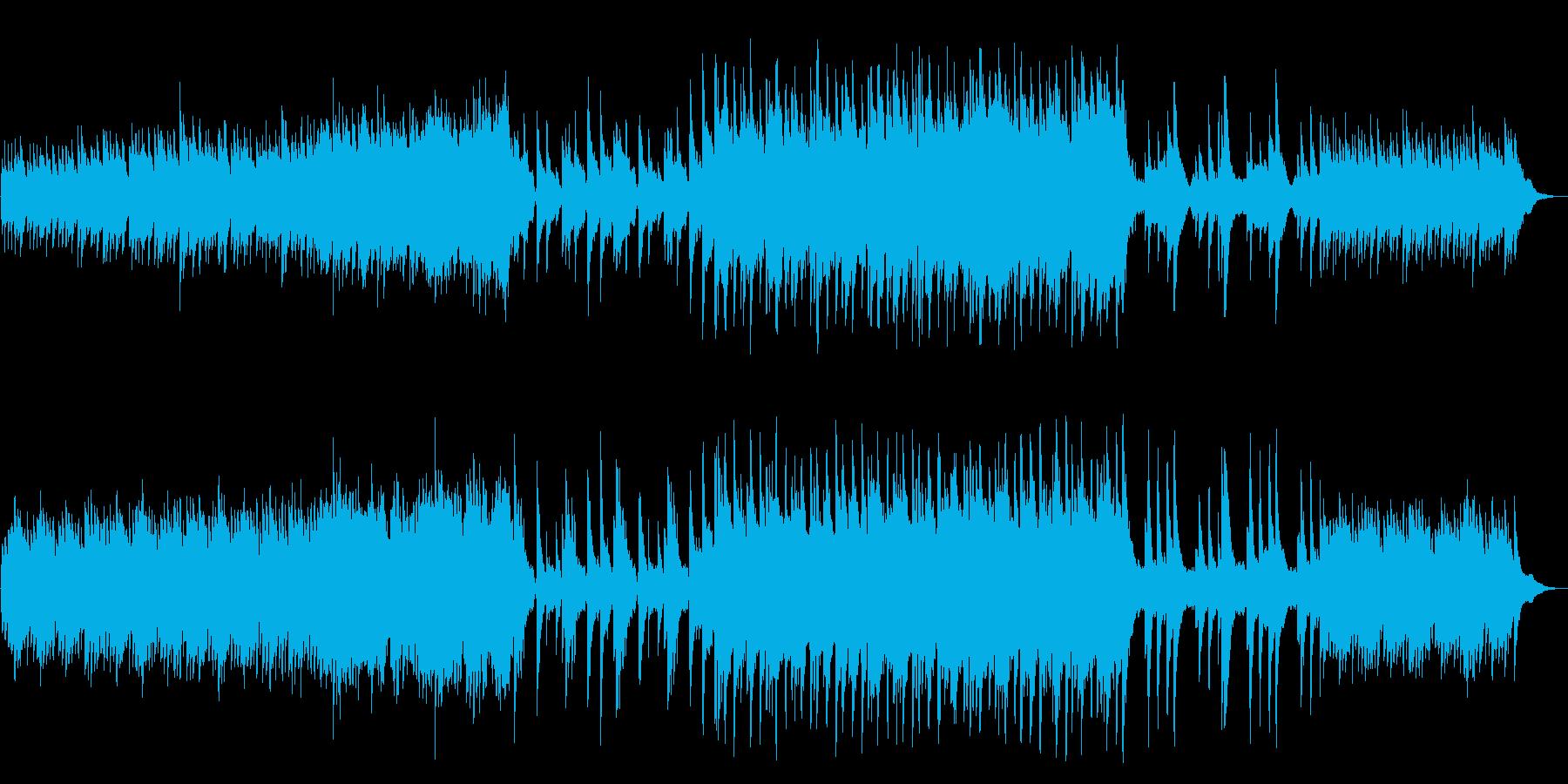 [和風]民族楽器 幻想 森 自然 ピアノの再生済みの波形