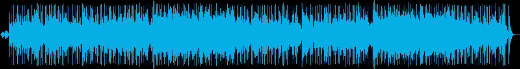疾走感あるメロディアスなシンセポップスの再生済みの波形