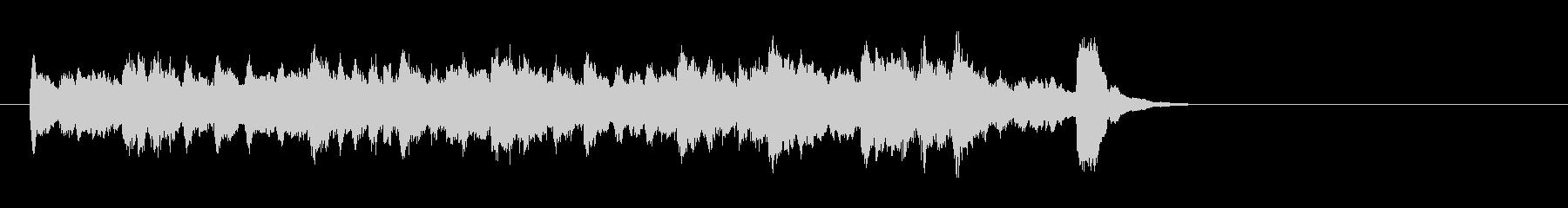 ワルツなセミクラ風ポップ(イントロ)の未再生の波形