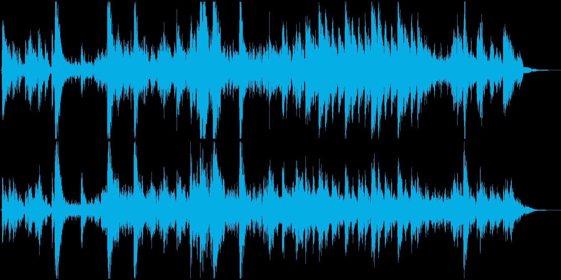 可愛らしい/小動物/動き回るの再生済みの波形
