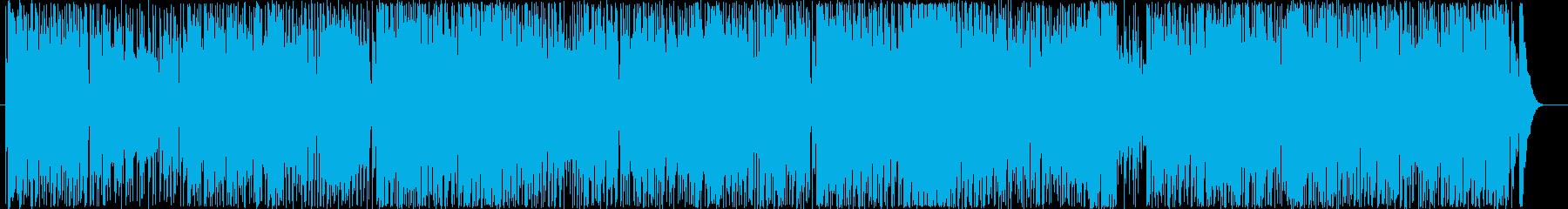 爽やかで疾走感のあるアコギのBGM2の再生済みの波形