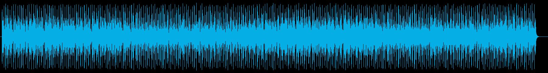 小気味良いデジタルサウンドのポップスの再生済みの波形