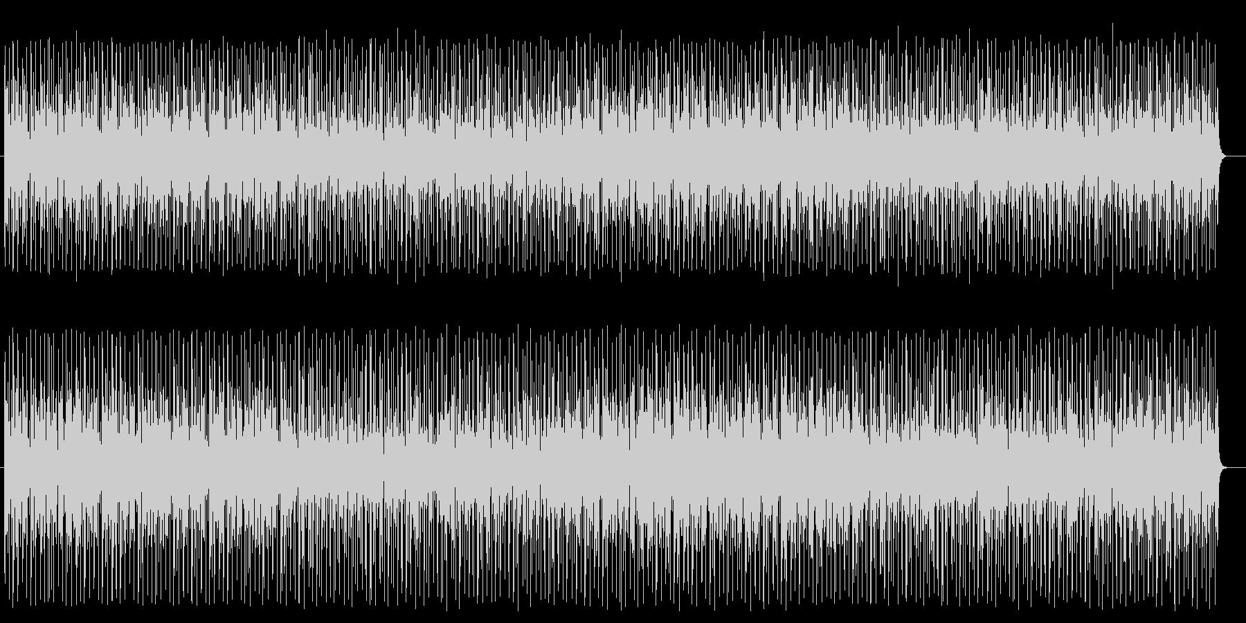 小気味良いデジタルサウンドのポップスの未再生の波形