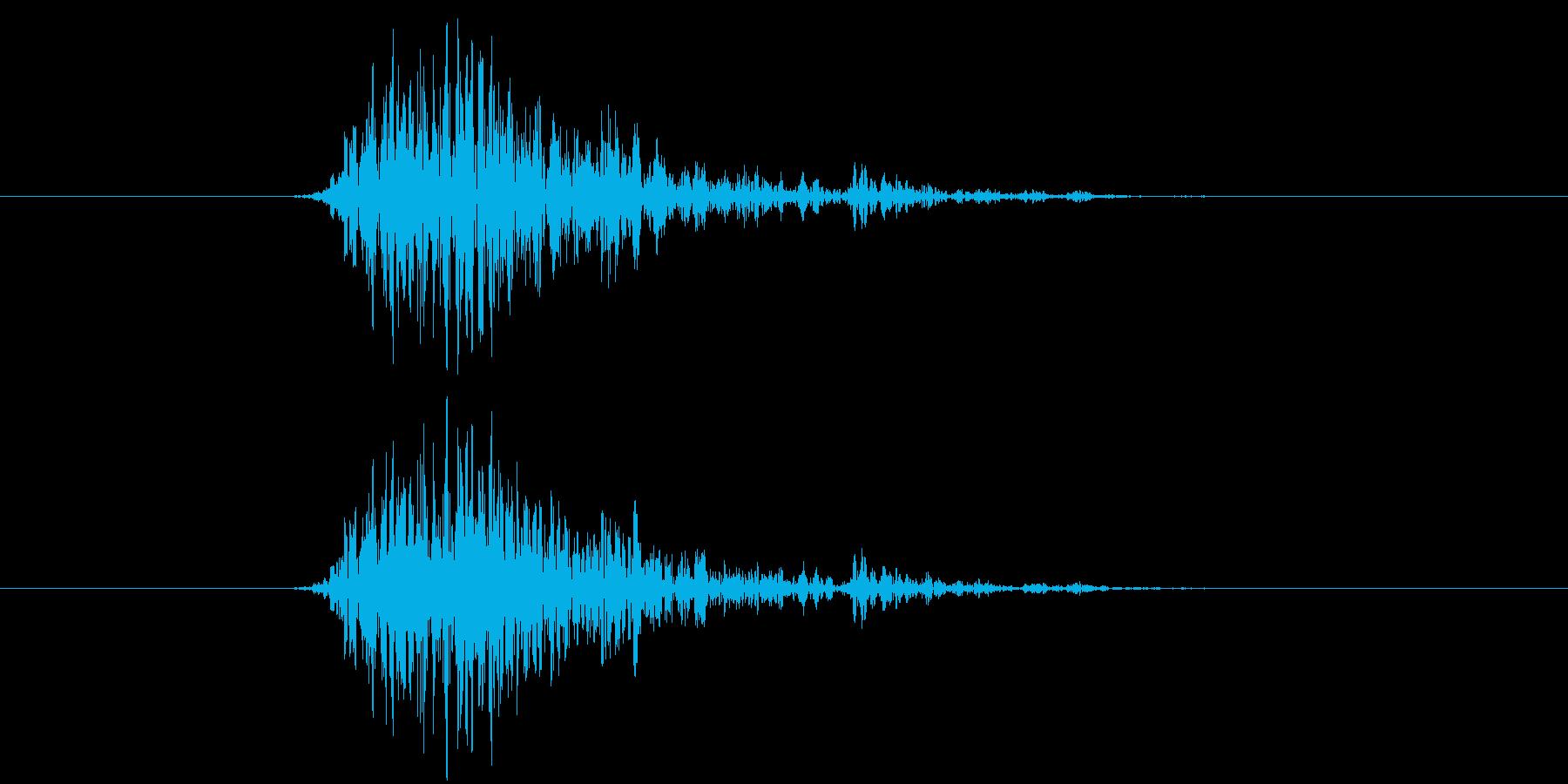 ビュン(ゲーム、レーザー、発射)の再生済みの波形
