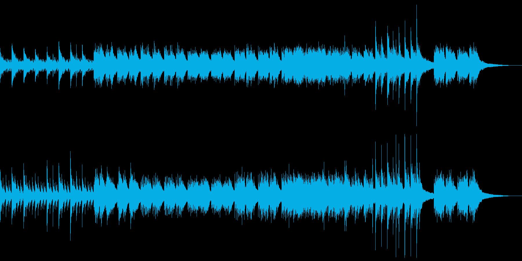 ピアノインスト:悲劇的、サスペンスの再生済みの波形
