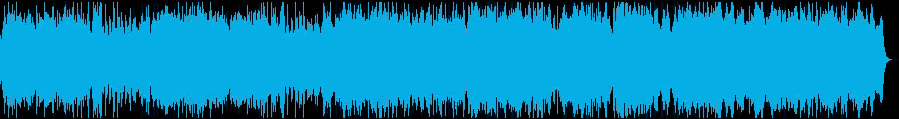 バッハの「主よ人の望みの喜びよ」の再生済みの波形