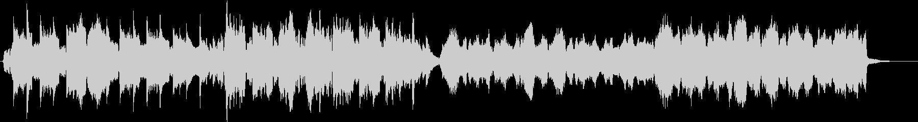 ほのぼとした描写スケッチオーケストラの未再生の波形