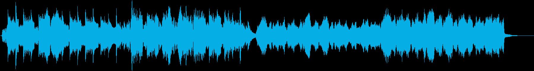 ほのぼとした描写スケッチオーケストラの再生済みの波形
