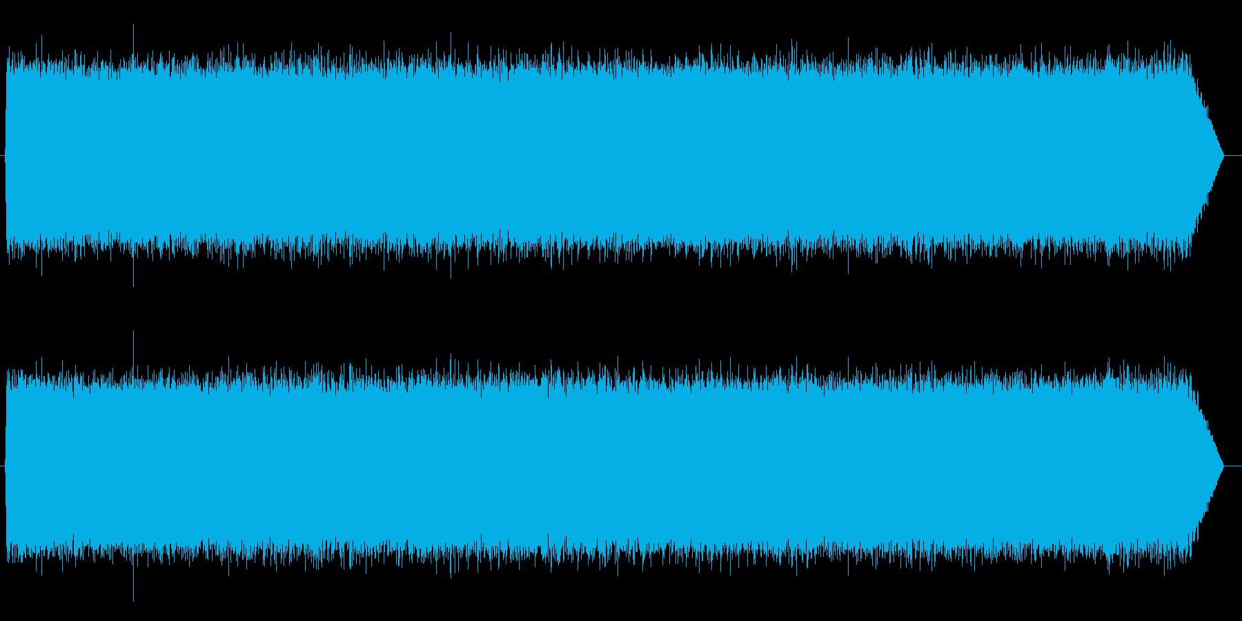 砂嵐効果音 テレビのノイズ ザー サーの再生済みの波形