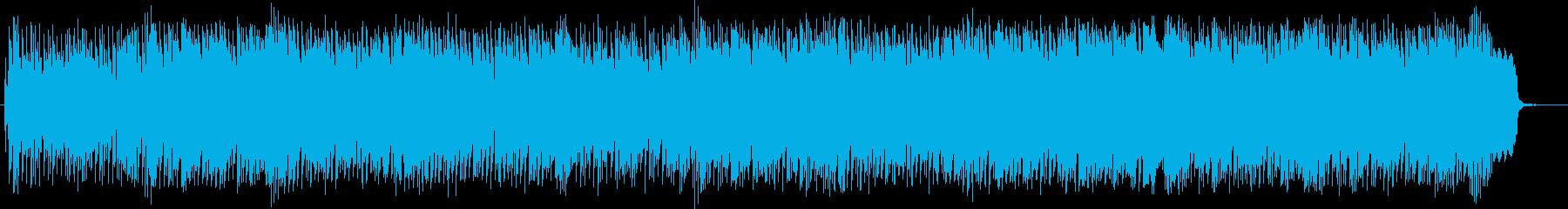 煌びやかでリズミカルなドラムポップスの再生済みの波形
