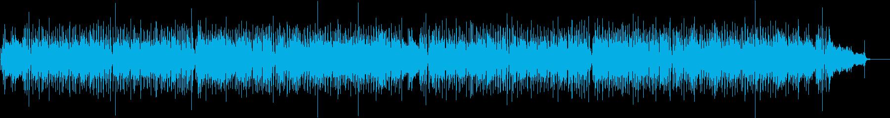 フルートがメインのショッピング音楽の再生済みの波形