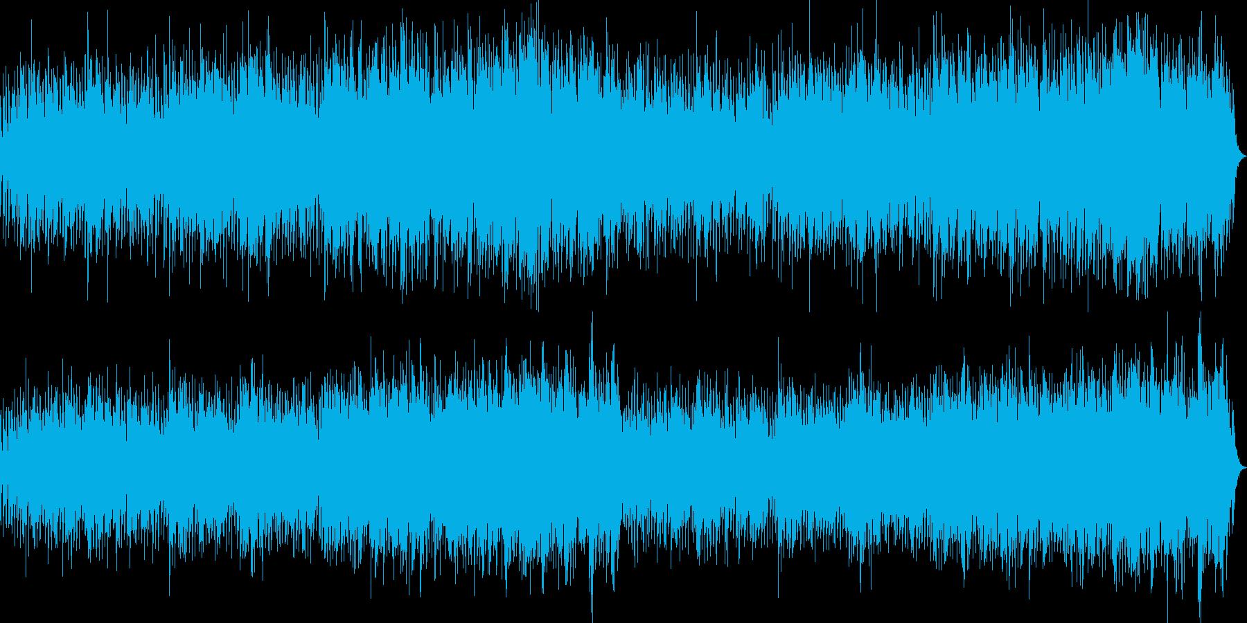和風で癒されるボレロの再生済みの波形