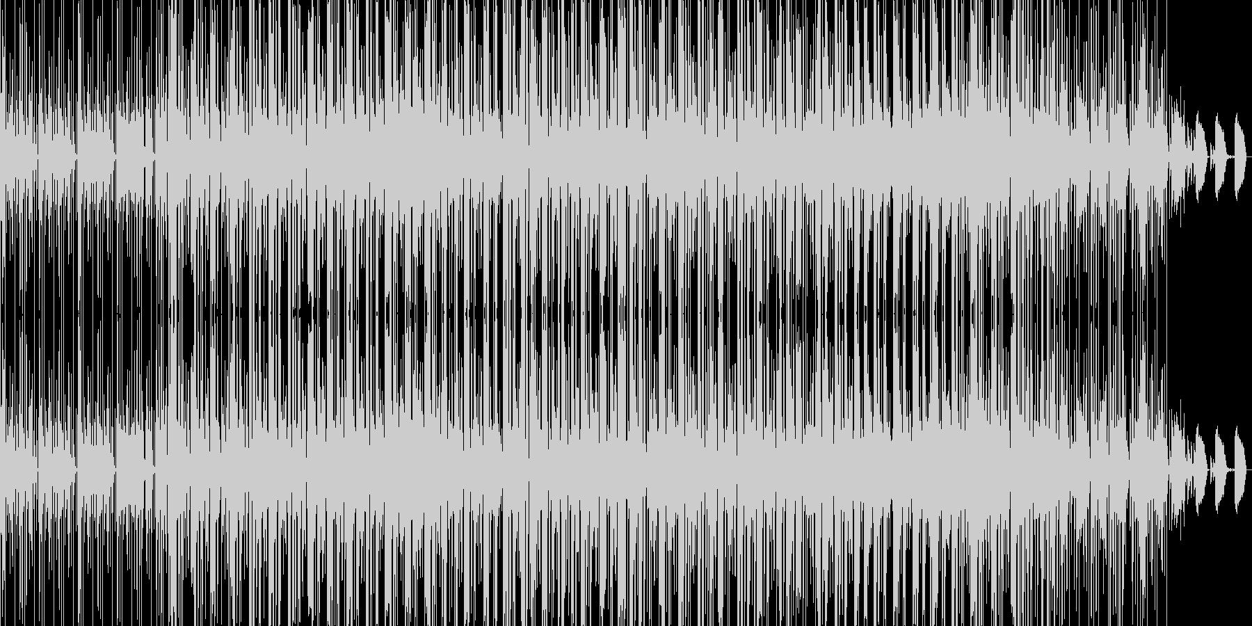 chillout beats 02の未再生の波形
