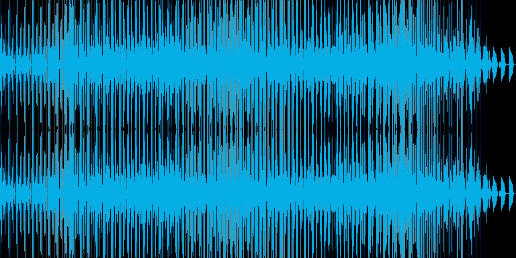 chillout beats 02の再生済みの波形
