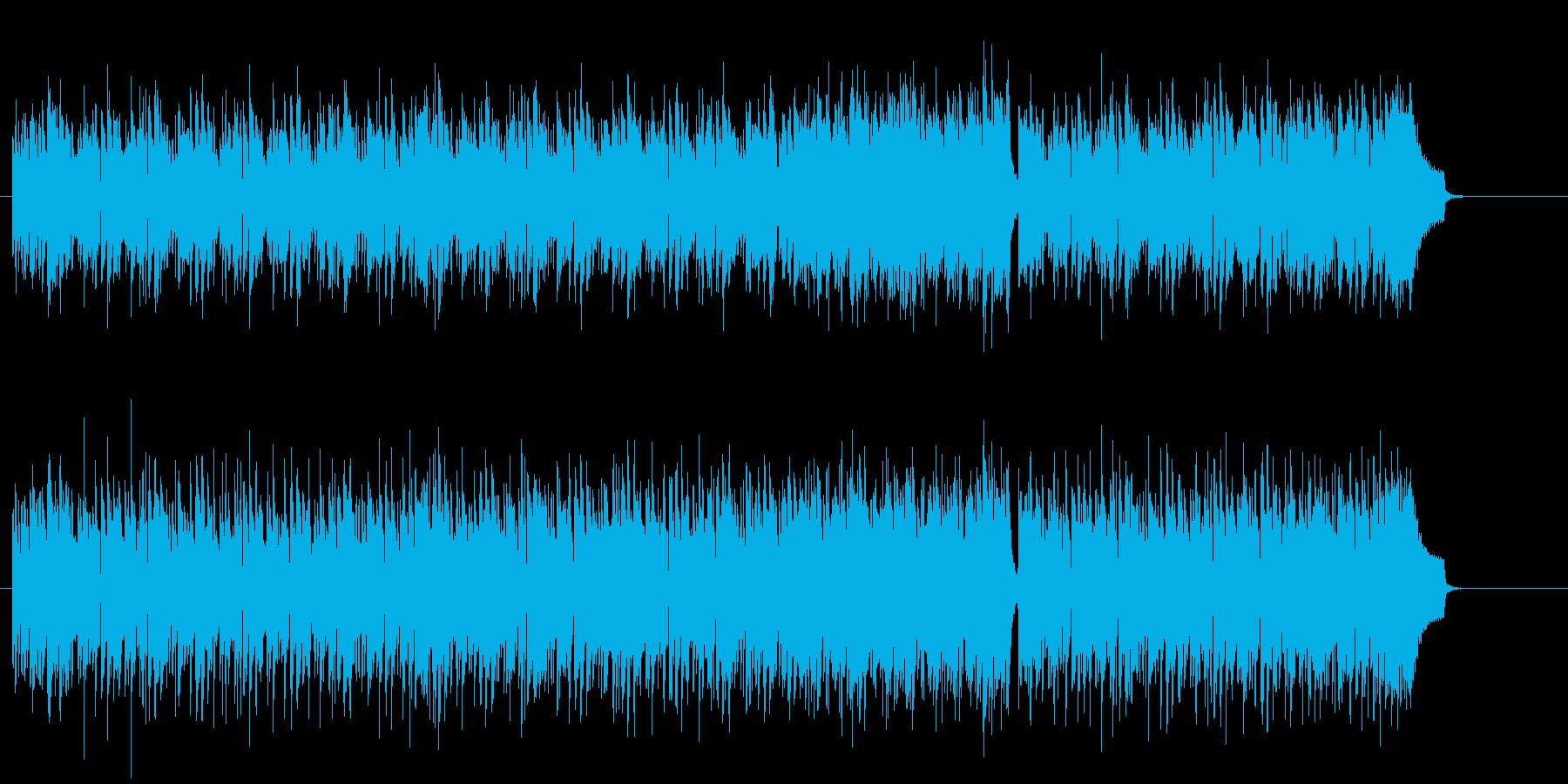 ハンガリアン・マイナー・スケールの再生済みの波形
