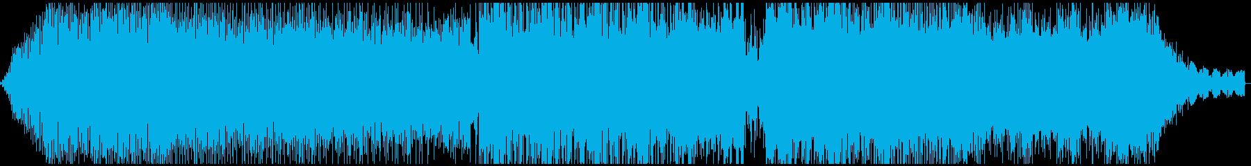 癒やし系アコースティックエレクトロニカの再生済みの波形