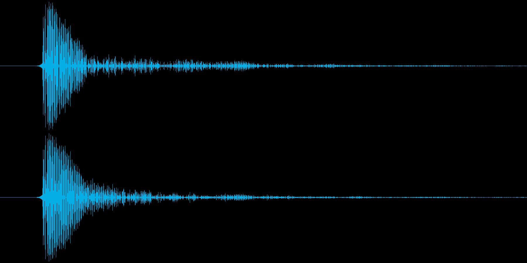 タップ音 (スマホ) キッの再生済みの波形