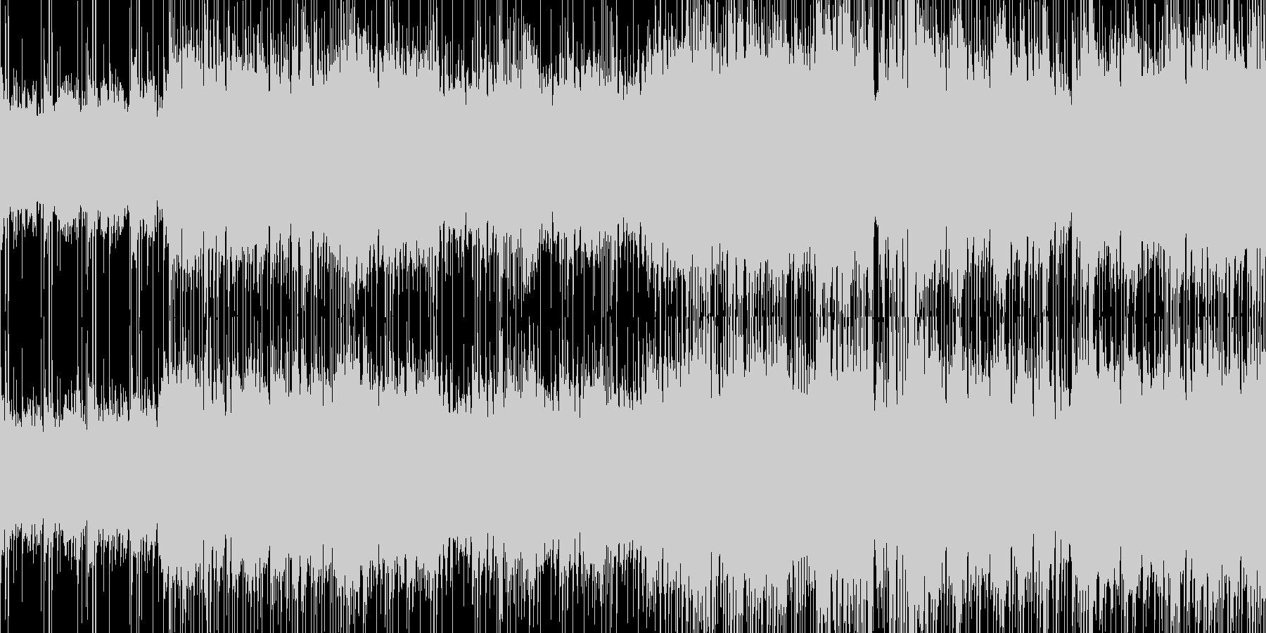 疾走感のあるSTG向けハウステクノlpの未再生の波形