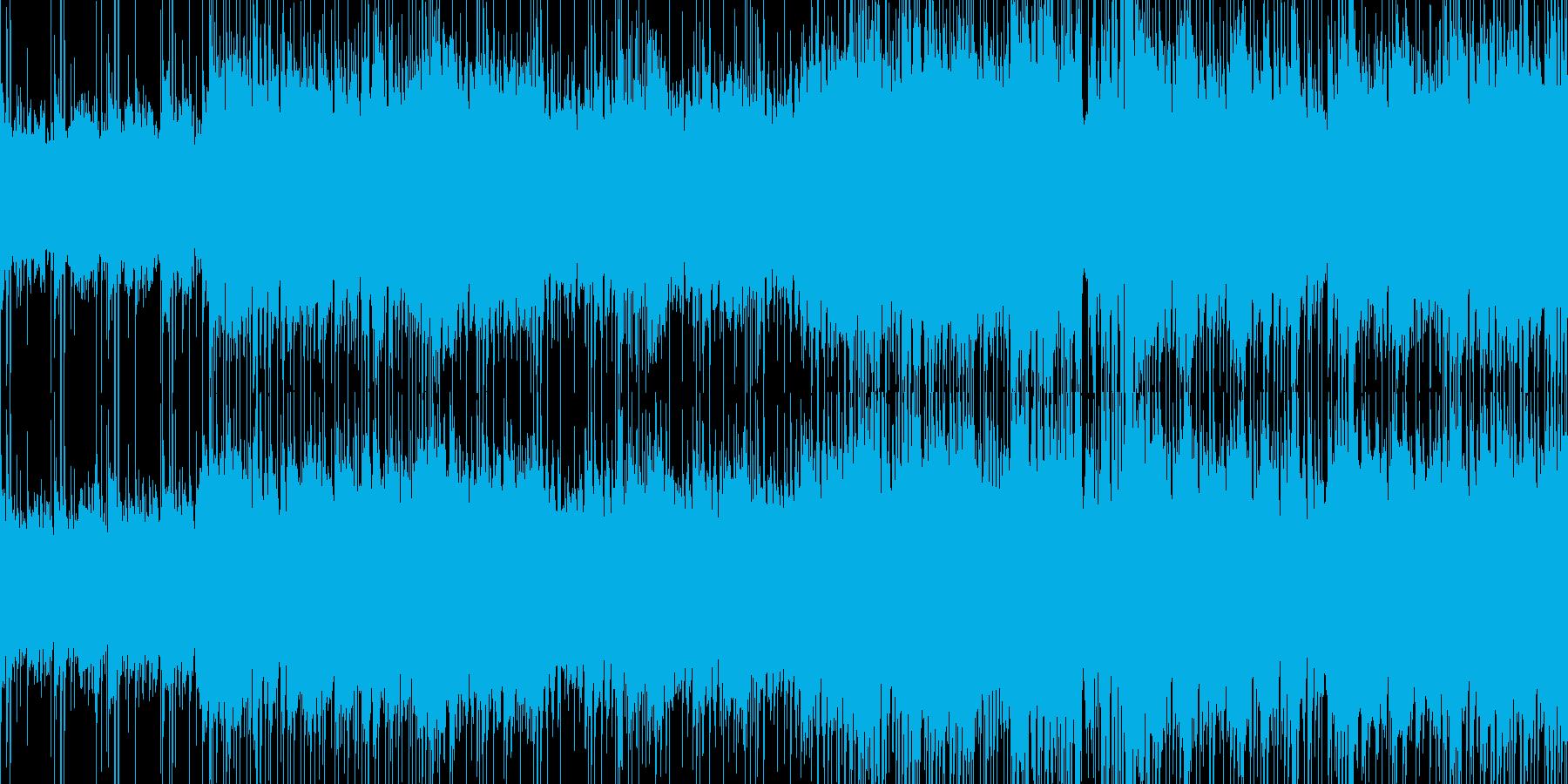 疾走感のあるSTG向けハウステクノlpの再生済みの波形