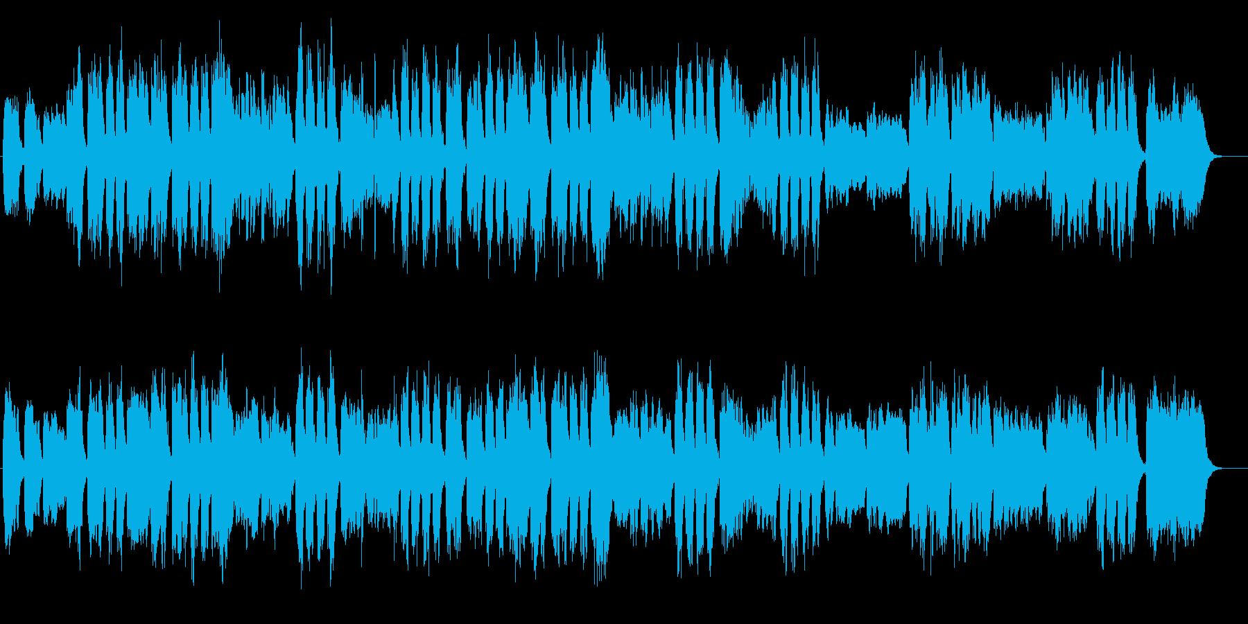 クラシック ハレルヤ合唱 パイプオルガンの再生済みの波形