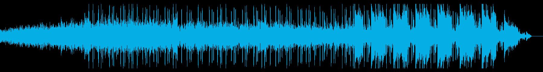 短めの幻想的なトラップミュージックの再生済みの波形