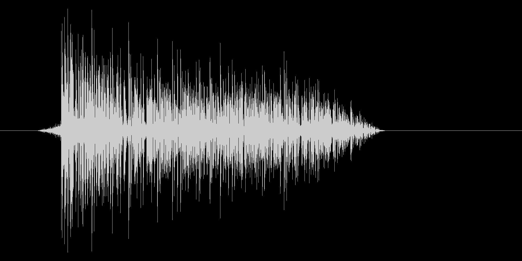 ゲーム(ファミコン風)爆発音_006の未再生の波形