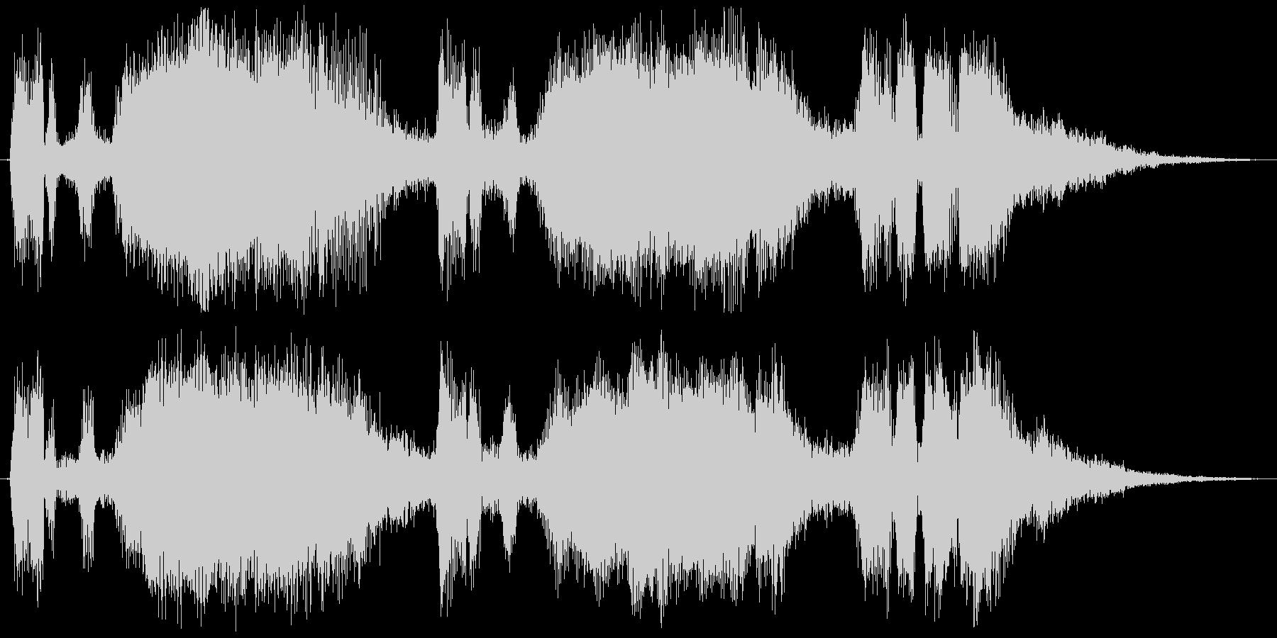 TpとTbのファンファーレの未再生の波形