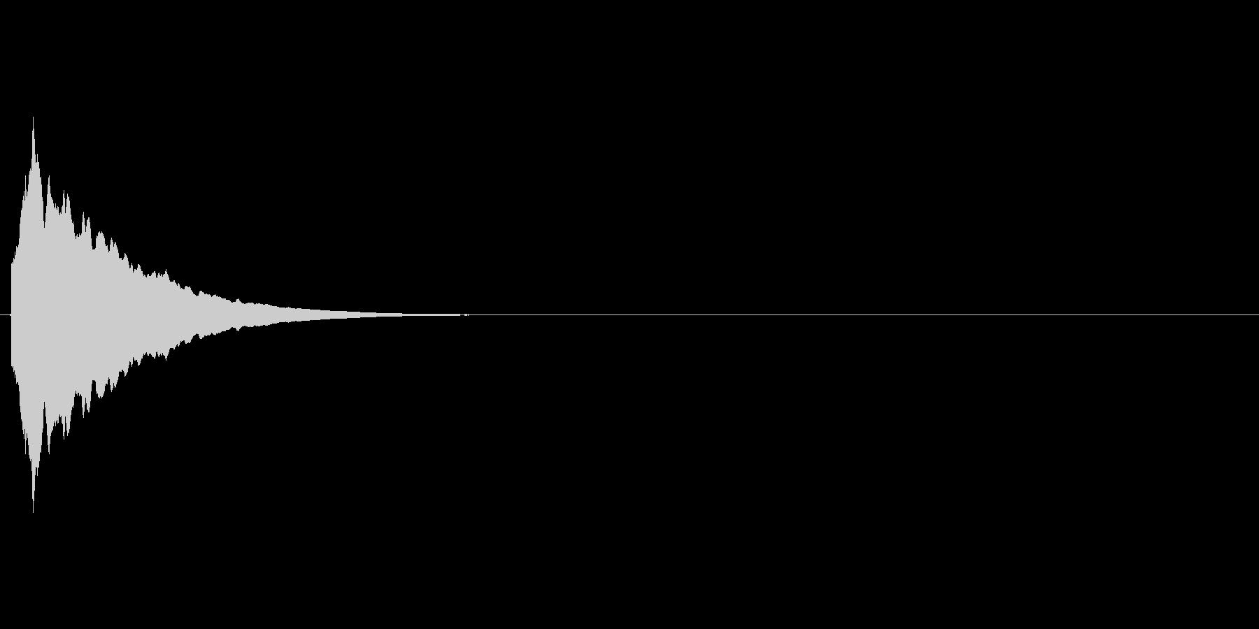 キラーン(星、光る、瞬く)の未再生の波形