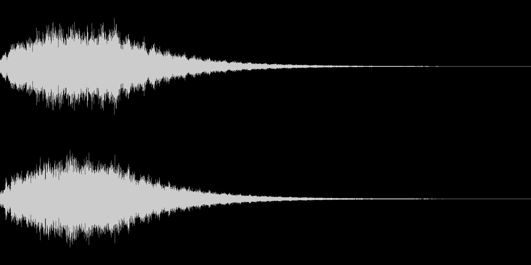 キラキラ シャララーン アイキャッチ07の未再生の波形