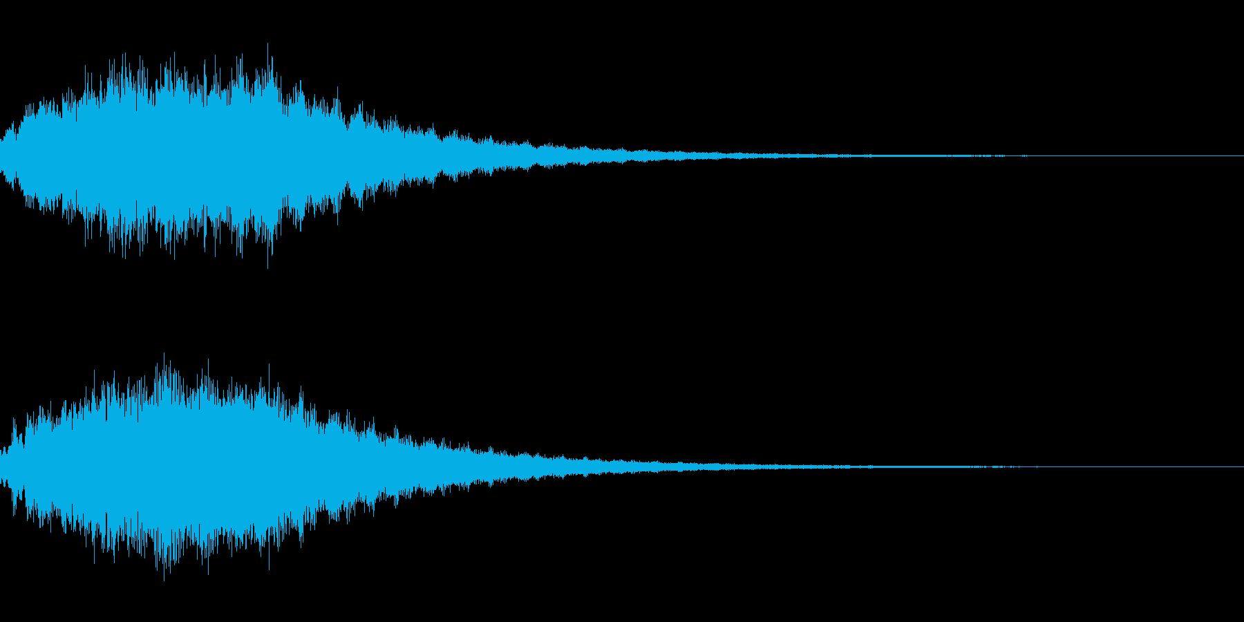 キラキラ シャララーン アイキャッチ07の再生済みの波形