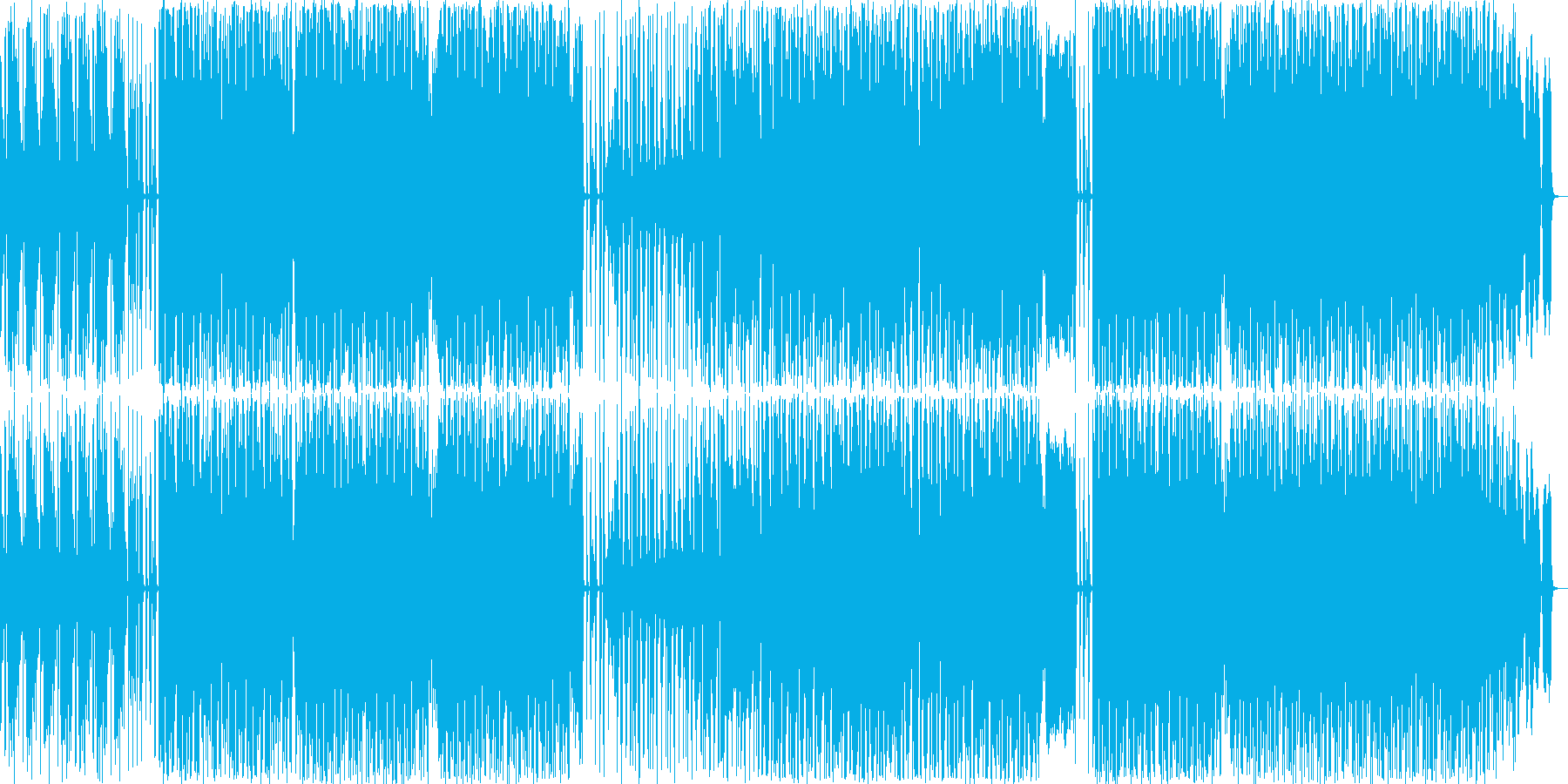 ハウスです。KORG DS-10のみで…の再生済みの波形
