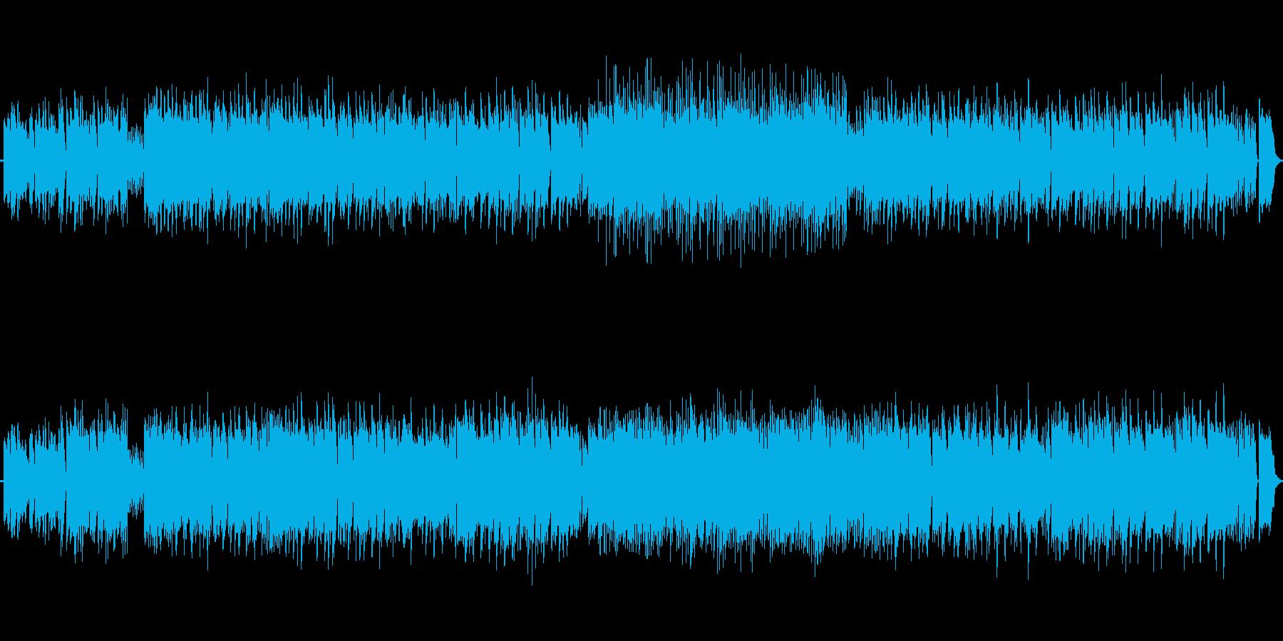 どちらかと言うとポップでシンセも使用。の再生済みの波形