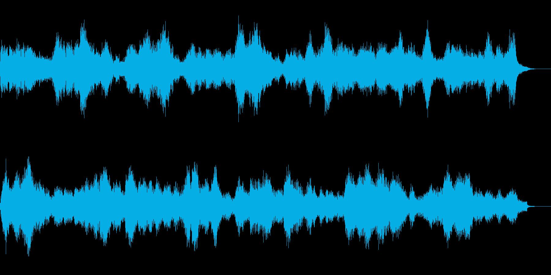 地獄の背景音に 2の再生済みの波形