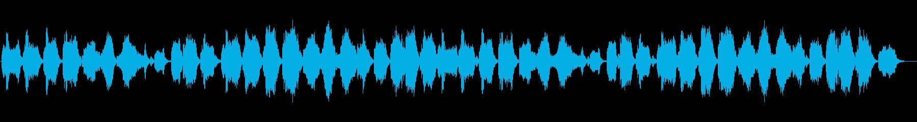 不安な気持ちを駆り立てる和楽器の曲の再生済みの波形