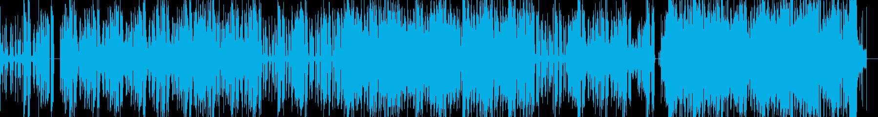 企業V映像にテクノハイテク東京シーンにの再生済みの波形