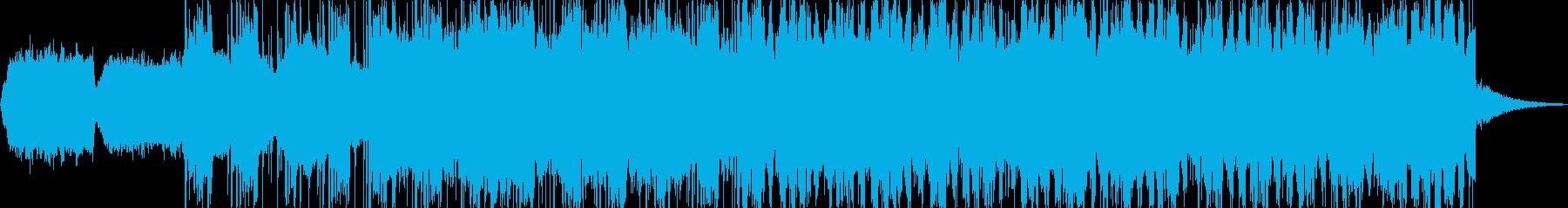 ノスタルジックなBGMの再生済みの波形