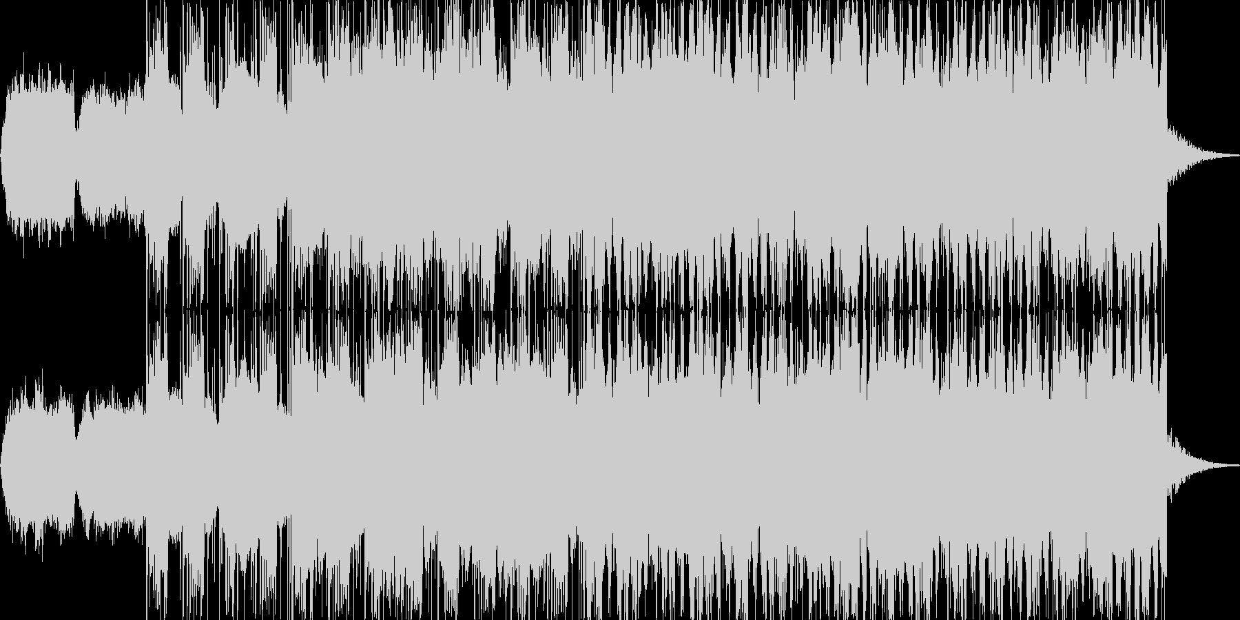 ノスタルジックなBGMの未再生の波形