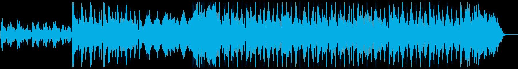おしゃれなミドルテンポ小編成ストリングスの再生済みの波形