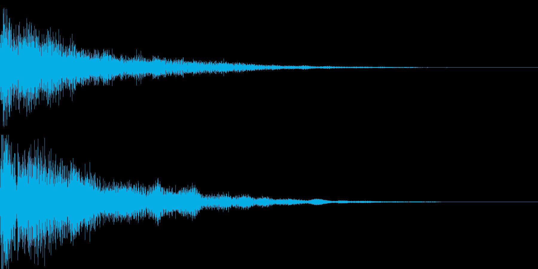 パァカーン(決定_06)の再生済みの波形