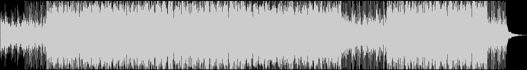 切ない雰囲気のトロピカルハウスピアノの未再生の波形