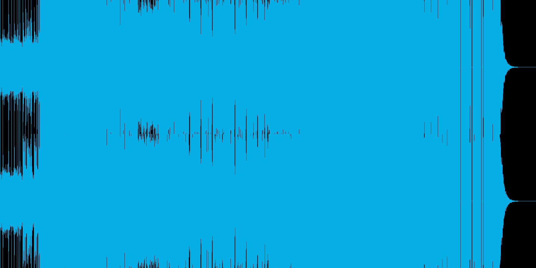 【メタルロック】バトルシーンや緊迫シーンの再生済みの波形