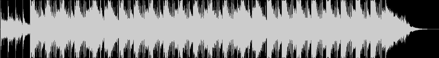 アコギがメインの優しい楽曲の未再生の波形