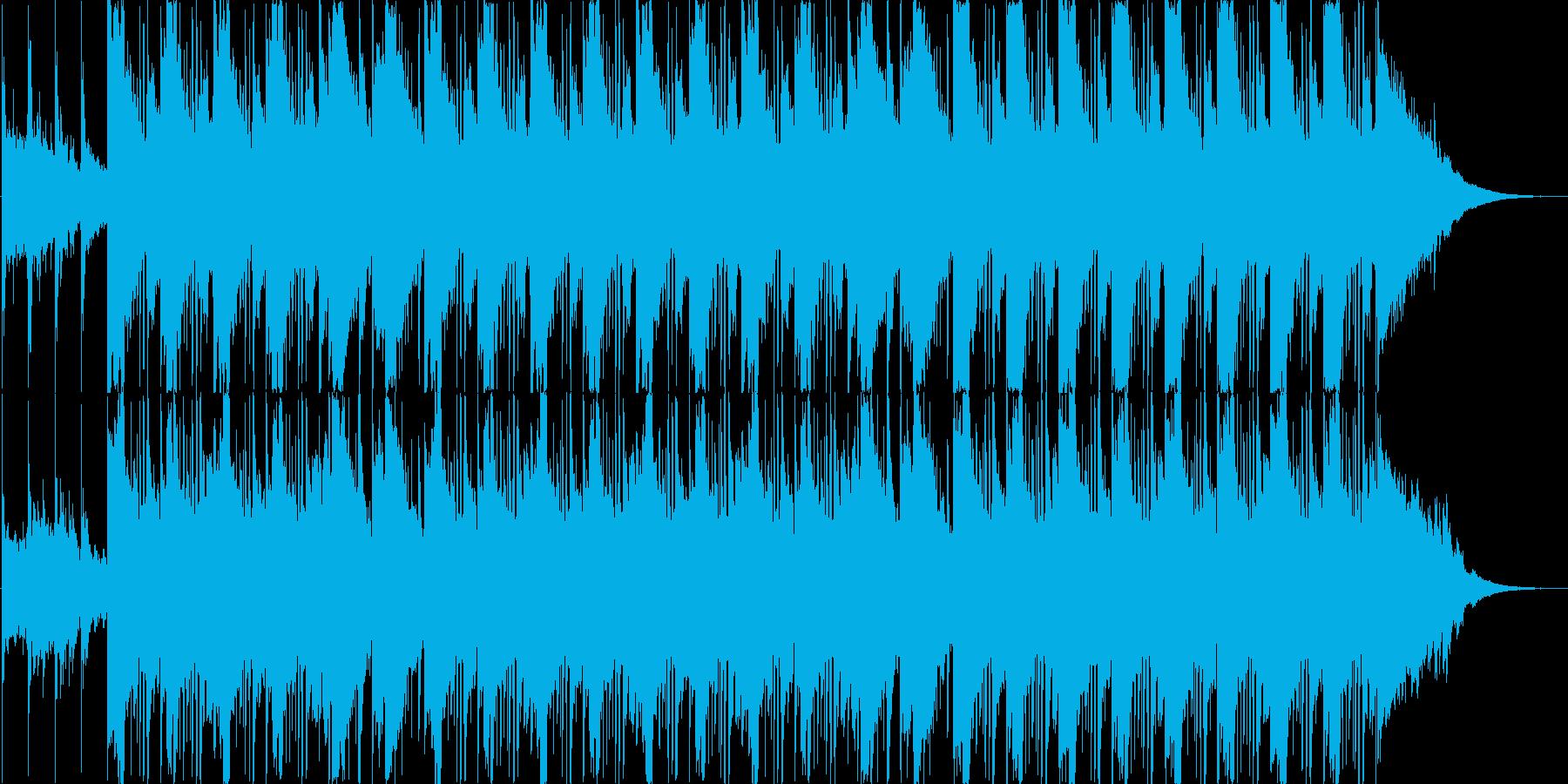 アコギがメインの優しい楽曲の再生済みの波形