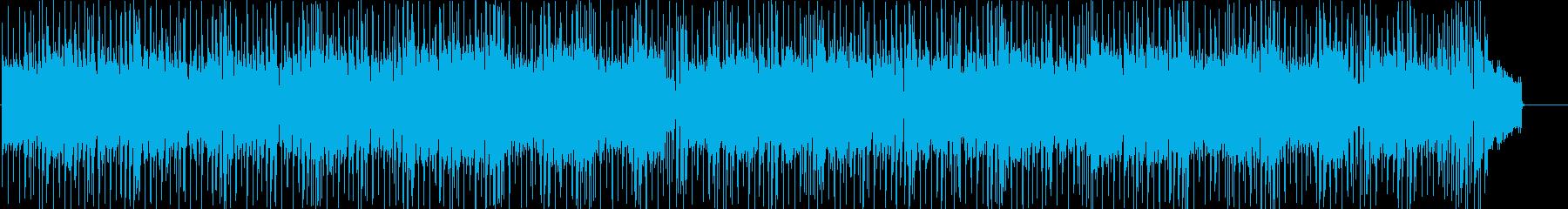 不安 緊張 追跡 あやしい スリル 夜の再生済みの波形