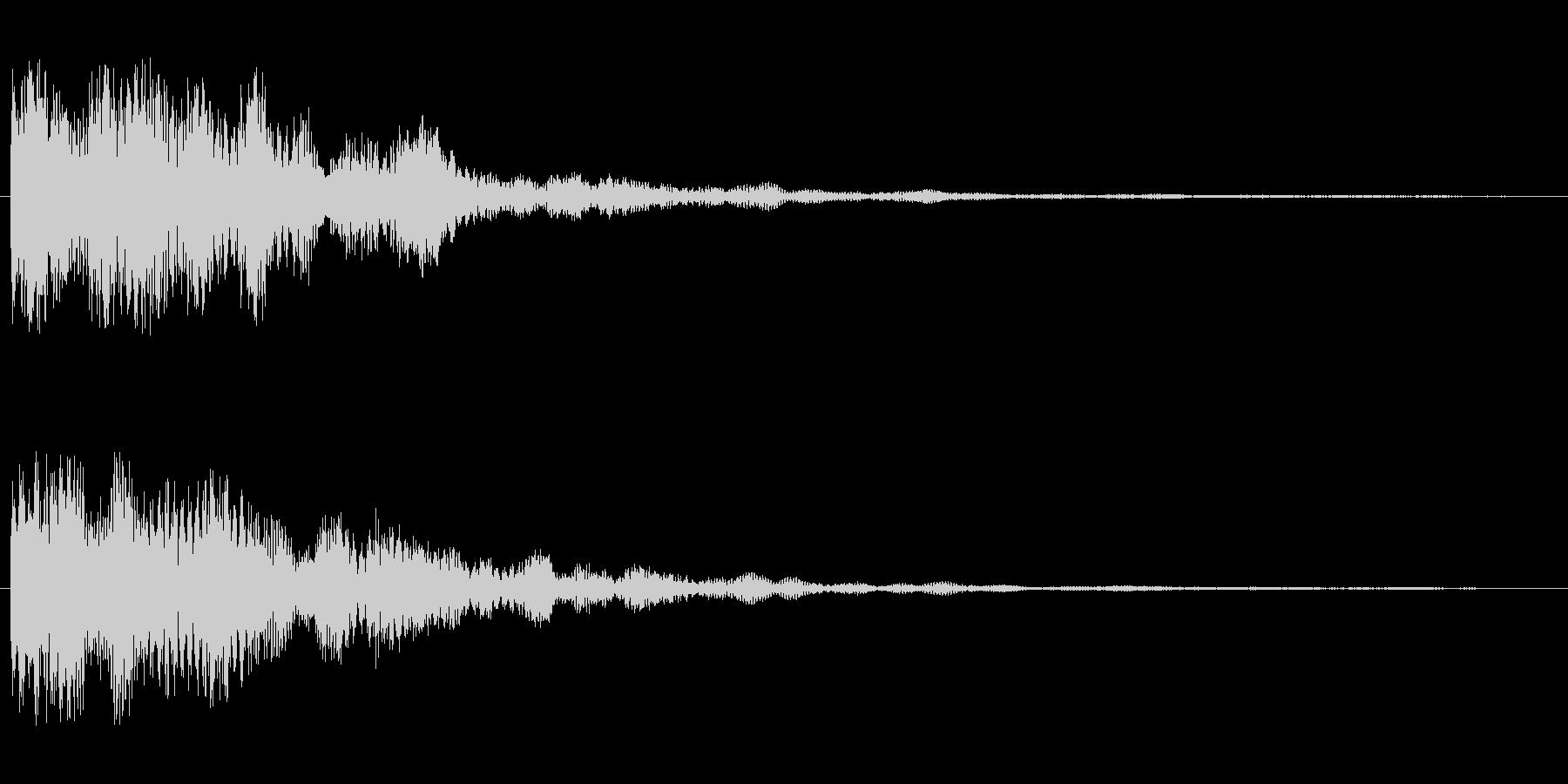カーン(不協和音系)の未再生の波形