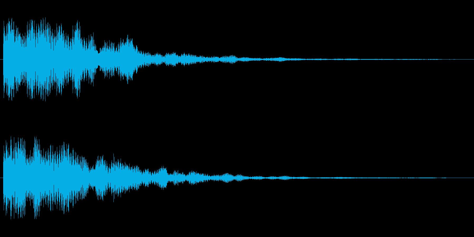 カーン(不協和音系)の再生済みの波形