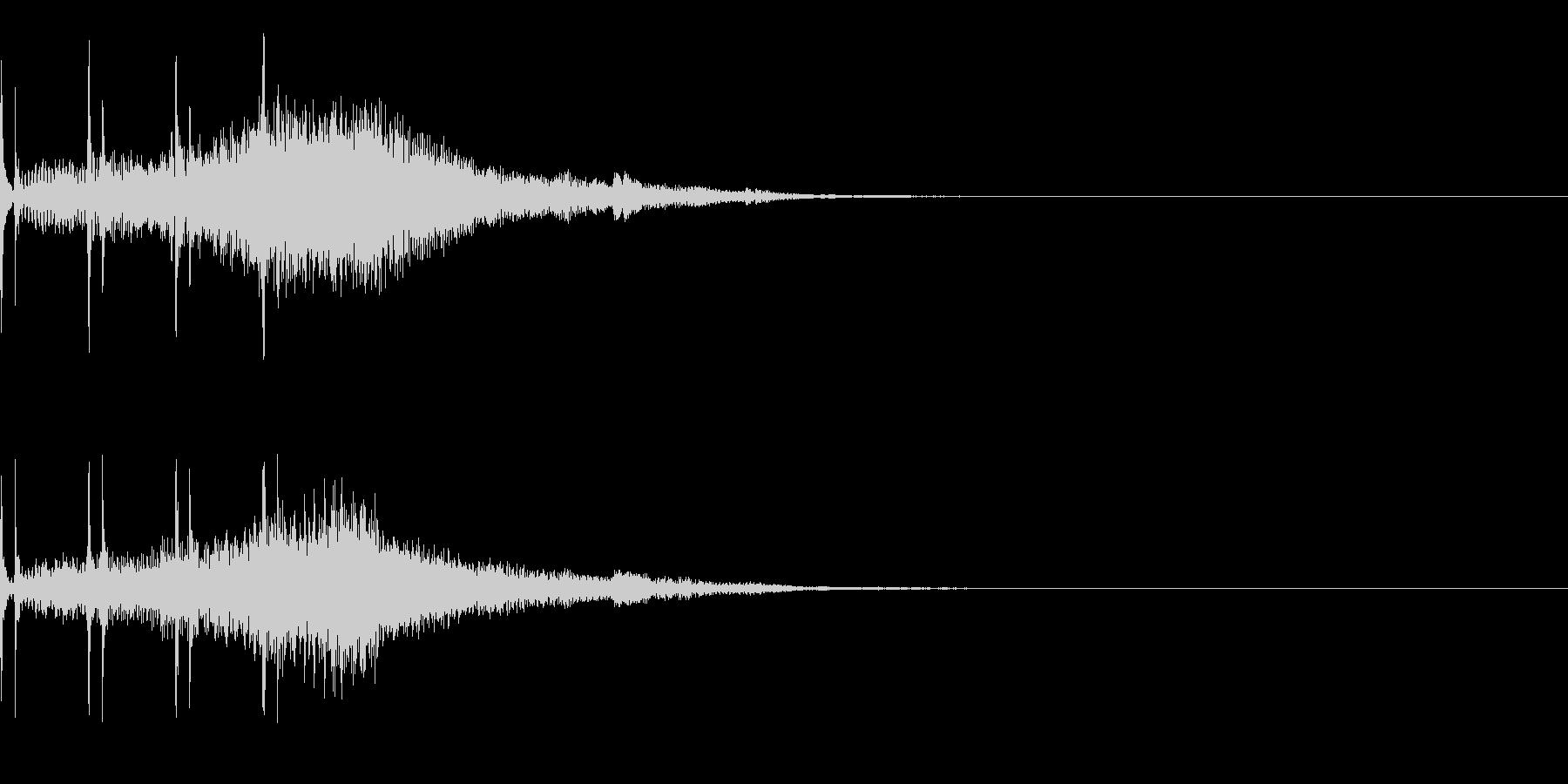 オセロ リバース ゲーム 裏返るの未再生の波形