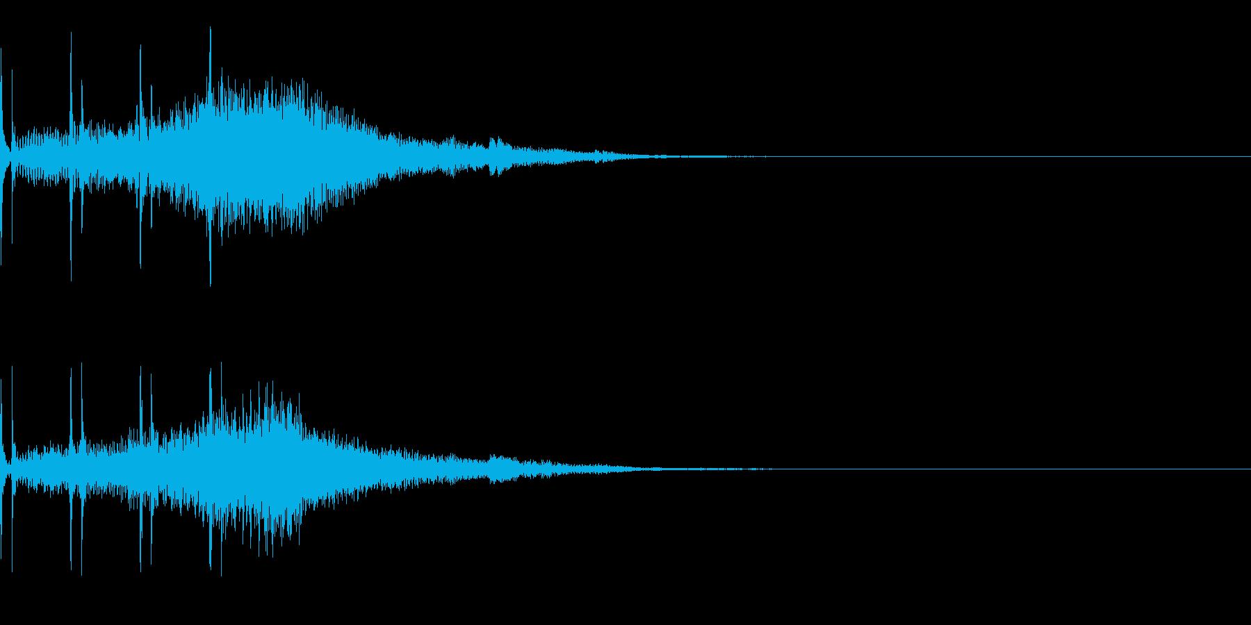 オセロ リバース ゲーム 裏返るの再生済みの波形